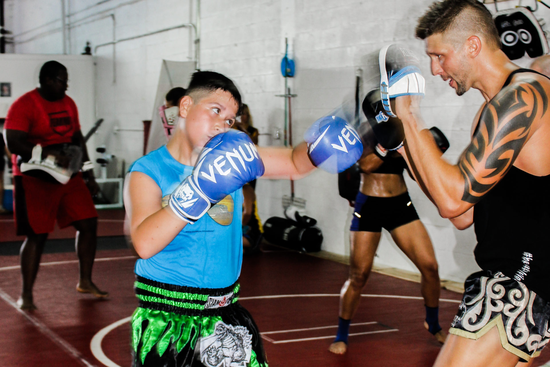 Kids Wolfpack Boxing Club Miami